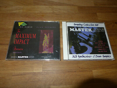 2 x Sample CD / Drums Bass Sounds Synthesizer Samples Loops / Moog K-1000 TR 808