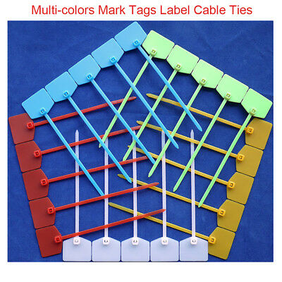 Self-locking Nylon Mark Tags Label Cable Ties Zip Ties Network cabling Tie