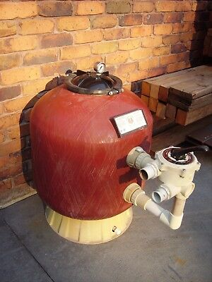 Baker Hydro Pool Sand Filter In Good Operating Condition. No UV Damage.