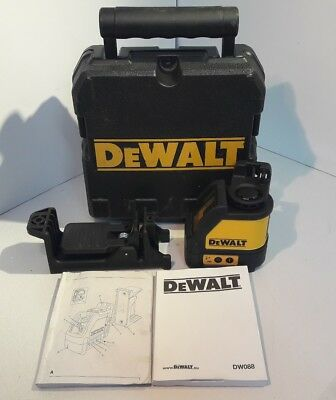 Dewalt DW088 2 Way Self-Levelling Cross Line Laser Level HY 79433