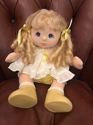 My Child Doll Aussie Blonde Ringlets Ribbons and Bows Mattel