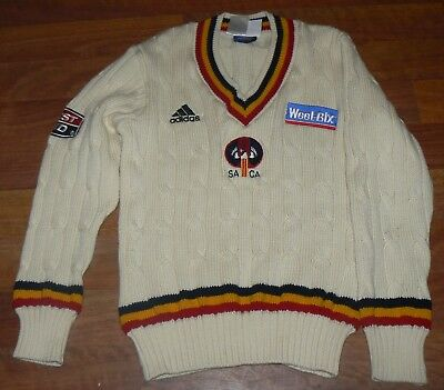 "South Australia Cricket  Long Sleeve Sweater  ""Weet Bix Sheffield Shield"