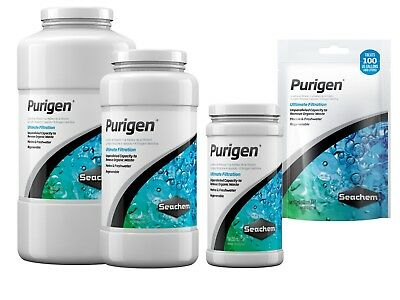 Seachem PURIGEN Filter Media Removes Organic Waste Aquarium Fish Tank