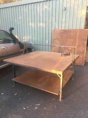 Work Benches, Cutting Tables