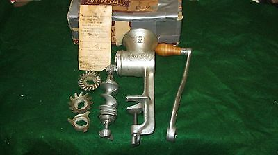 Vintage Food Grinding Machine Universal # 2, Clean & Complete In Great Condition