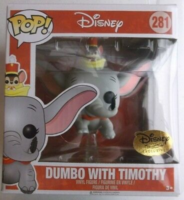 Disney Treasures Dumbo With Timothy 281 Funko Pop Festival Of Friends New Movie