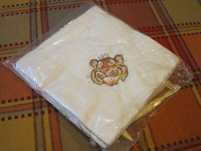 Vintage Exxon Tiger Coctail Napkins with 4 Hors D'oeuvre Forks SEALED