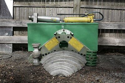 Greenlee 884 885 Hydraulic Rigid Pipe Bender 1 1/4 To 5 Inch