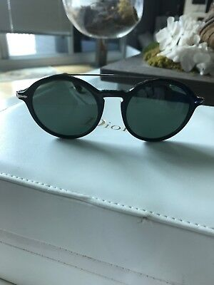 c9b4bfa1223dc NEW PERSOL sunglasses PO3172S 95 31 51mm Black Grey Green Classic round 3172