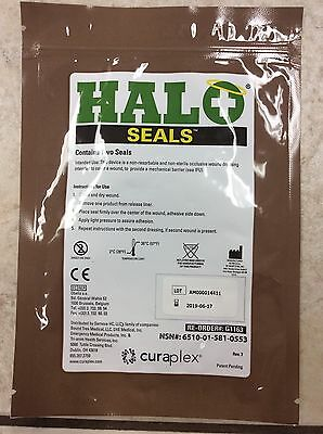 HALO Chest Seals (2 Per Package) Exp. 2018-2019