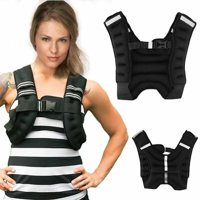 5KG Adjustable Weighted Vest Loss Home Training Running Fitness Jacket Waistcoat