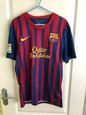 Fc Barcelona 11/12 Home Jersey Messi Small