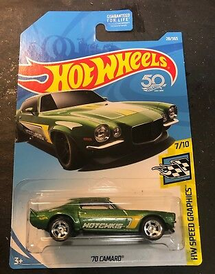 Super Custom Hot Wheels CUSTOM '10 Pro Stock Camaro  With Real Riders