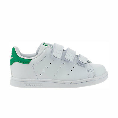 5d467c02495 Adidas Original Toddlers  Stan Smith NEW AUTHENTIC White Green M20609