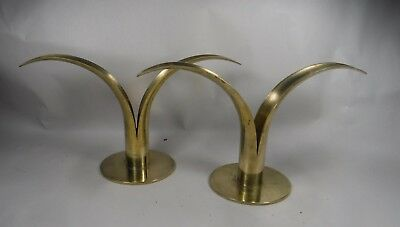 Bjork Lily Sweden Candle Holders Ystad-Metall