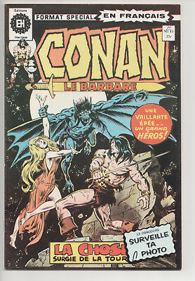 CONAN #41 french comic français EDITIONS HERITAGE