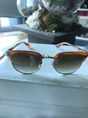 02a9208711 PERSOL BROWN GRADIENT Aviator Sunglasses PO8649S 960 51 56 -  119.00 ...