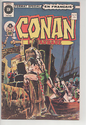 CONAN #51 french comic français EDITIONS HERITAGE