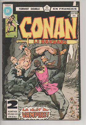 CONAN #87/88 french comic français EDITIONS HERITAGE