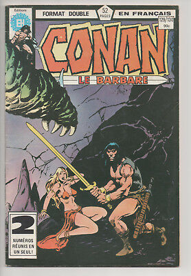 CONAN #129/130 french comic français EDITIONS HERITAGE