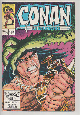 CONAN #139/140 french comic français EDITIONS HERITAGE