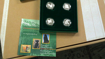 Canada 1997 50 Cents Canada's Best Friends - Dogs Coin Set