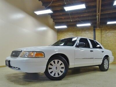Crown Victoria Police Interceptor 2009 Ford Crown Victoria, White, 21k Miles, *48* Idle Hours, Southern Car