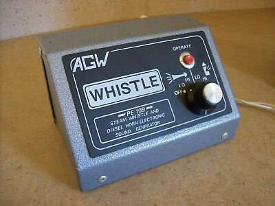 AGW Whistle Diesel Horn and Steam Whistle Generator