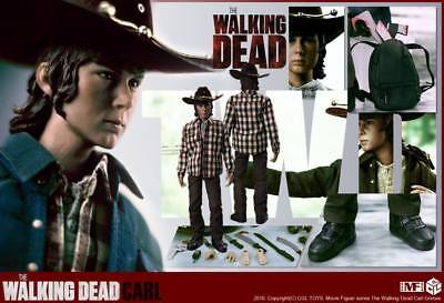1/6 Scale CGL Zombie Hunter Carl Grimes Son of Rick The Walking Dead Actionfigur