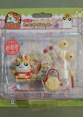 Brand New Vintage Epoch Japan Hamtaro hamster Stan with accessories HC-62