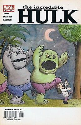 Incredible Hulk Vol. 3 #49 | Very Fine | Marvel Comics | 2003 | Variant Cover