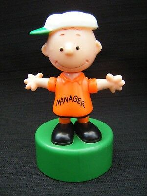 Charlie Brown Bendable Pop Up Ideal Toy 1950 United Feature Hong Kong Peanuts