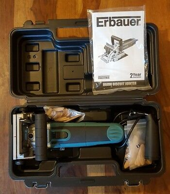 Superb condition Erbauer ERB372BJC 860W Biscuit Jointer