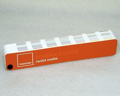 Pantone Formula Guide Solid MATTE Large Edition With Special Features cc