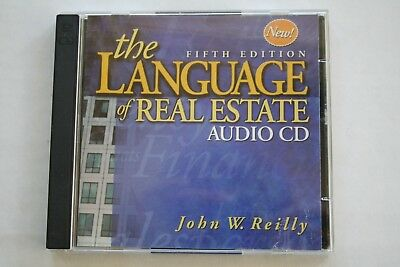 The Language Of Real Estate Audio CD FIFTH EDITION By John W. Reilly