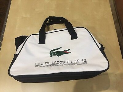 LACOSTE CANVAS DUFFLE Bag 33b1fe7532c33