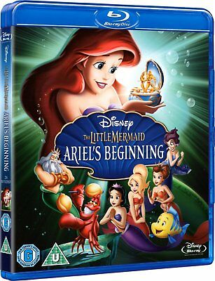 The Little Mermaid 3: Ariel's Beginning (2008) Blu-Ray Disney NEW Free Ship