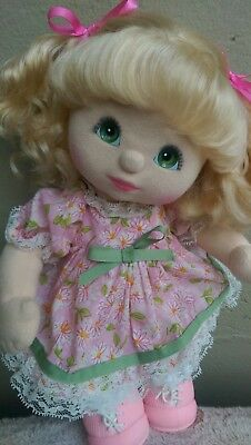 My Child Doll ~ Stunning Blonde Aussie/Euro Ringlet/Curly Pony ~ Fully Dressed!