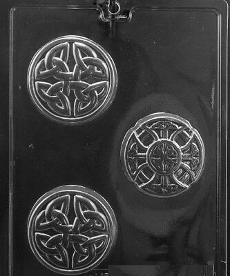 3 CELTIC BAR SOAP Moulds .... SOAP MOULD .... #M240