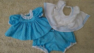 My Child Doll Clothes ~ Original VHTF Aussie Blue Hearts Set ~ 3 Pieces~Reduced!