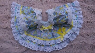 My Child Doll Clothes~HTF Aussie Floral Flare Tulip Dress~Very Nice~Reduced!