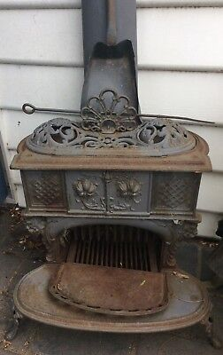 Queen Anne Stove Vintage Falkirk No 7 - Cast Iron - 1900's