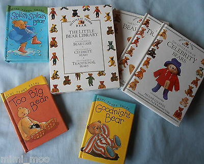 The Little Bear Library (Three Books In a case) & Three Mini Teddy tales Books