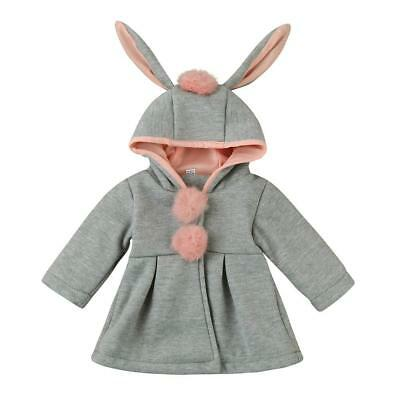 Baby Girls coat Winter clothes Infant Girls Autumn Winter Hooded