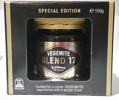 Vegemite Blend 17 B Vitamins For Vitality 150g Special Limited Edition Australia