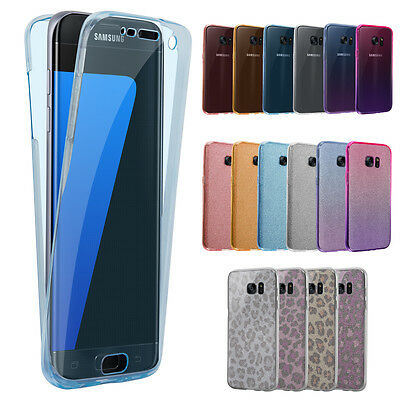 Luxury For Samsung Galaxy S9 S8 + S7 S6 Edge S5 Ultra Slim Shockproof Gel Cover