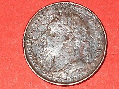 George 1111 Farthing Coin.