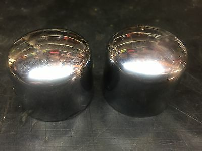 Genuine Harley Davidson front axle covers