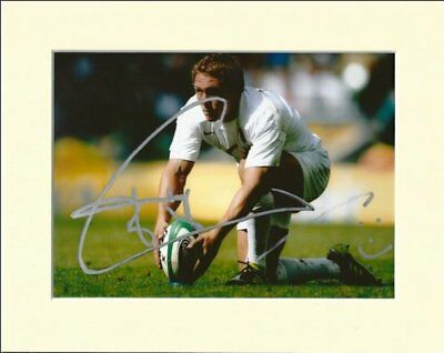 Jonny Wilkinson England Rugby Union Signed Autograph Photo Print In Mount