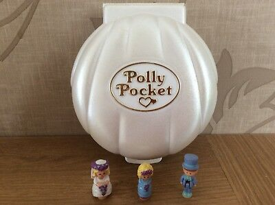 Vintage Polly Pocket 1989 Nancy's wedding day Musical Complete (Play Music)
